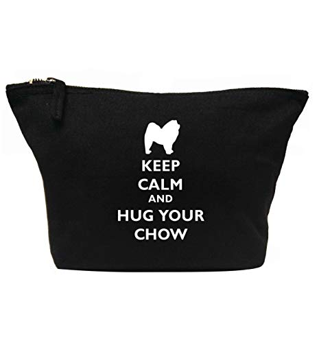 Flox Creative Trousse de maquillage Keep Calm Hug Your Chow