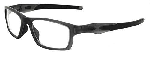 Oakley Crosslink Leaded Radiation Protection X-Ray Safety Glasses (Smoke Grey)