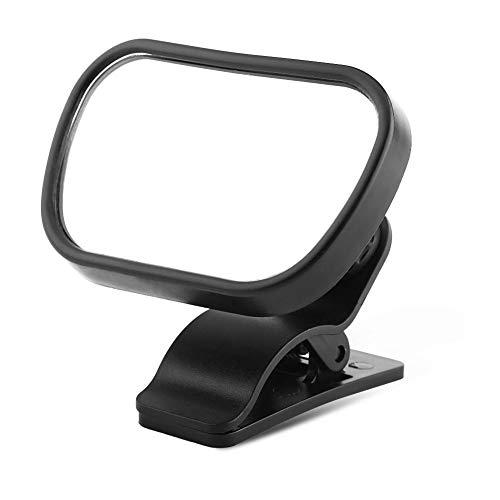 Specchietto retrovisore Specchietto per bambini Specchietto retrovisore Specchietto per auto Baby Baby con ventosa Clip nera