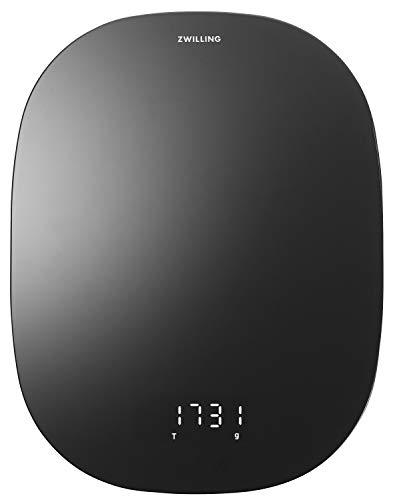 ZWILLING Digitale Küchenwaage, bis 10 KG, schwarz Enfinigy Wiegegewicht bis 10 KG