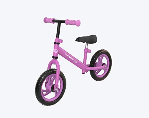 BEWEGT Speedy One Laufrad, Lernlaufrad, Lauffahrrad für Jungen und Mädchen ab 2-3 Jahren (pink/schwarz)