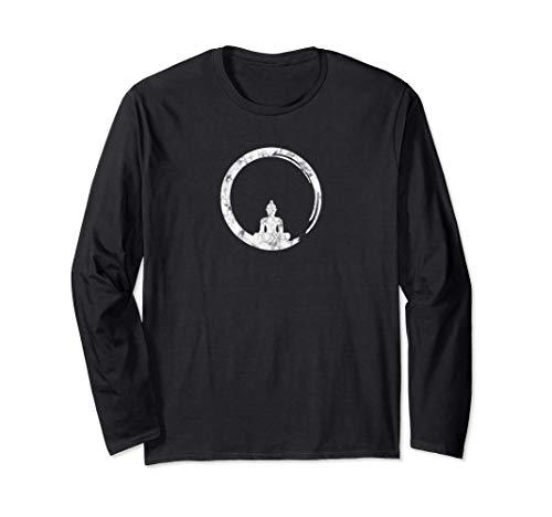 Enso, Zen, Círculo, Símbolo Budismo Buda Meditación Yoga, Manga Larga