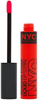 NYC Smooch Proof Liquid Lip Stain, Get Noticed by NYC