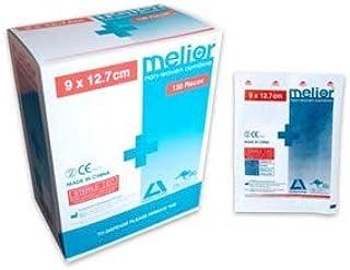 MELIOR COMBINE DRESSING PADS 9X12.7CM N/WVN STRL 130/DISP BX