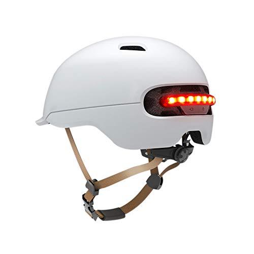 Dedeka Casco Bicicleta con luz LED para XIAOMI M365, Casco clásico para...