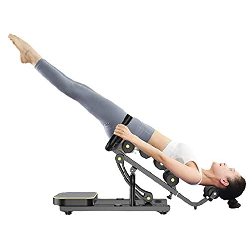 HXXXIN Banco De Trabajo De Inversión De Gravedad Máquina Invertida Yoga En Casa Taburete Invertido Estiramiento Ayuda Invertida Pequeño Equipo De Fitness Alivia La Fatiga