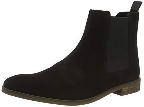 Clarks Herren Stanford Top Chelsea Boots, Schwarz (Black SDE Black SDE), 46 EU