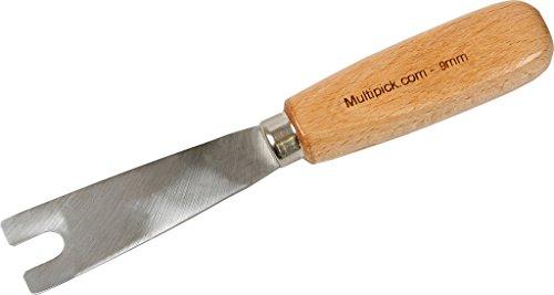 Nußmesser 9 mm gerade Ausführung für Tür Beschlagheber von Multipick für den Schlüsseldienst