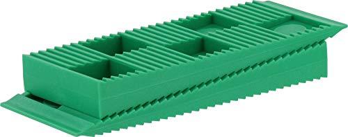 Kunststoffkeile für Dehnfugen beim Verlegen von Laminat 30 Stück grün