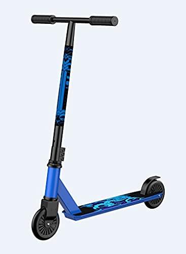 Scooter elétrico dobrável adequado para adultos - dobrável, portátil e muito leve, adequado para viagens e viagens (azul)