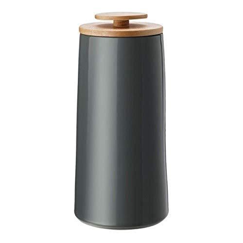 Stelton Vorratsdose, Dunkelgrau, H 23cm / Ø 10,8cm