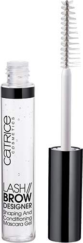 Catrice Lash Brow Designer Shaping And Conditioning Mascara Gel, Nr. 010, transparent, pflegend, definierend, langanhaltend, matt, vegan, entspricht unserem CLEAN BEAUTY Standard (6ml)