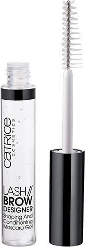 Catrice Lash Brow Designer Shaping And Conditioning Mascara Gel, Nr. 010, transparent, pflegend, definierend, langanhaltend, matt, vegan, Nanopartikel frei, 3er Pack (3 x 6ml)