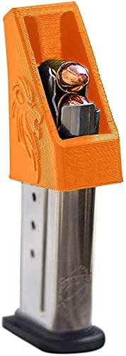 RAEIND Smith & Wesson M&P Shield 9mm Pistol Magazine Speed Loader (Orange, 9mm)