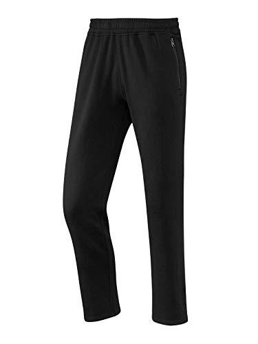 Joy Sportswear MAX Herren Freizeithose, Jogginghose ideal für Sport und Freizeit mit bequemen Bund und seitlichen Reißverschlusstaschen Kurzgröße, 28, Black
