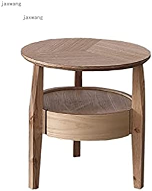 KXA Home Furniture Bedside Table Modern Minimalist Hotel Nightstand Nordic Solid Wood Living Room Storage Cabinet with Drawer