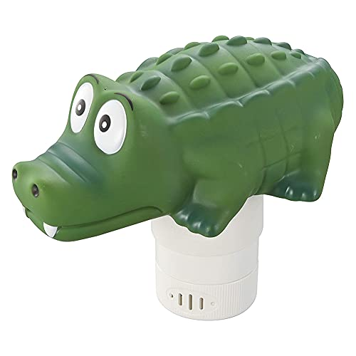 Jemets Alligator Chlorine Floaters, Pool Floating Chlorine Dispensers - Your Best Choice for The Coming Summer