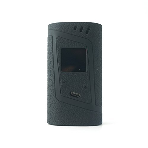 Silicone Case for Smok Alien 220w Kit Mod Box Protective Cover Skin for Smok Alien 220w Accessories Wrap Sleeve Gel (Black)