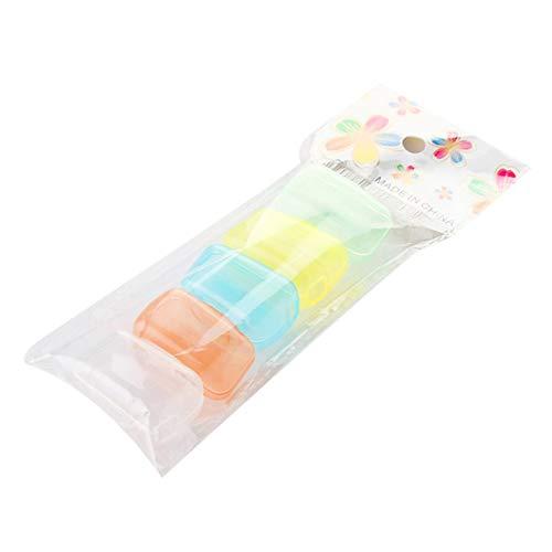 5 Stück Zahnbürstenköpfe Abdeckung PP Kunststoff-Schutzkappe Verhindern Sie Bakterien, die für Reisen im Freien tragbar sind Home Bürstenkopf Staubschutz BCVBFGCXVB (zufällig)