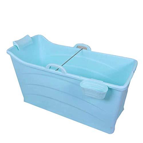Badewannen GX Klappbare tragbare Freistehende Badezimmer Whirlpool Hot Tubs Bad Eimer oder Erwachsene Lange Isolationszeit 120x58x68cm (Farbe : Pink, Größe : Without Cover)