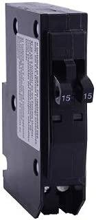 Square D QO QO2020 Tandem Miniature Circuit Breaker, 120/240 VAC, 20 A, 10 kA, 1 Pole, Thermal Magnetic Trip