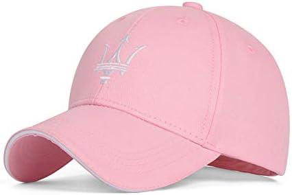 Adjustable Maserati Logo Embroidered Baseball Hat Cap For Maserati BLACK BLUE