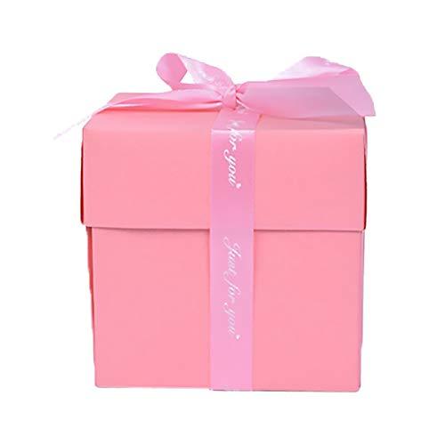 TO TO Explosionsbox Set Album Geschenkbox Kreatives Album Überraschungsalbum Sticker Box für Heiratsanträge Überraschungen zum Geburtstag Machen