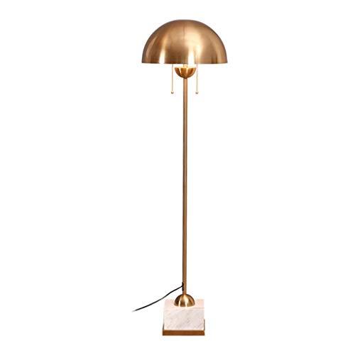 HNWNJ lámpara de pie tipo loft Lámpara de piso Sala de estar Dormitorio Estudio LámparaDecoración Habitación Habitación de mármol Lámpara de piso Lámpara de pie después de la moderna creativa minimali