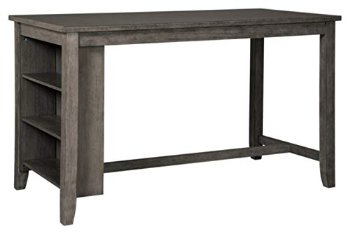 Signature Design by Ashley Caitbrook Counter Height Dining Room Table, Gray