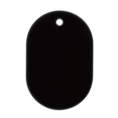 オープン工業 番号札 小 黒 25枚 無地 BF-41-BK