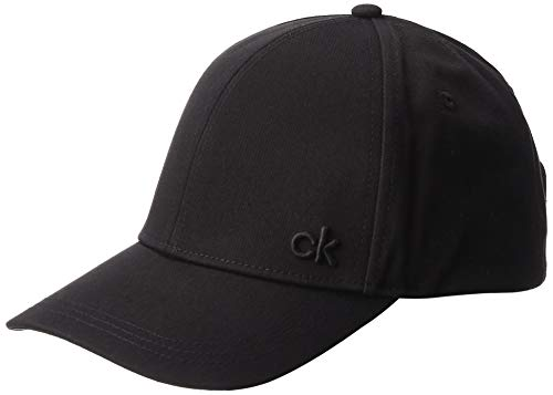 Calvin Klein CK Baseball cap Berretto, Nero (Black 001), Unica (Taglia Produttore: OS) Uomo