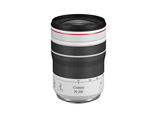Canon Objektiv RF 70-200mm F4L IS USM für EOS R (77mm Filtergewinde, 5-stufige optische Bildstabilisierung, Dual-Nano-USM Autofokus, Vollformat, leicht, kompakt, Staub- Spritzwasserschutz) schwarz