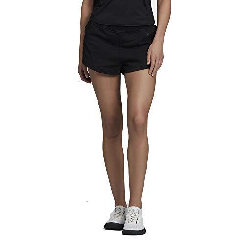 adidas Mujer Athletics Short Pantalones Cortos Mujer Negro, L