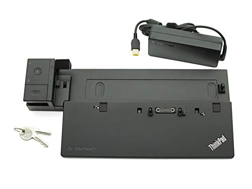 Lenovo Docking Station inkl. Netzteil (90W) Ultra Dock Original ThinkPad T460 Serie (Generalüberholt)