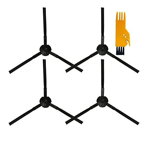 Piezas De Repuesto De Cepillo Lateral/Ajuste para Chuwi ILIFE A4S A40 A6 (Escarabajos) A8 V3S Pro V5S Pro V7S Plus Pro Robot Robotic Aspirumeer (Color : 4Pcs)