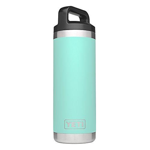 YETI Rambler 18oz Vacuum Insulated Stainless Steel Bottle with Cap, Seafoam DuraCoat