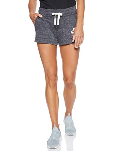 Nike Women's NSW Gym Vintage Short, Anthracite/Sail, Medium