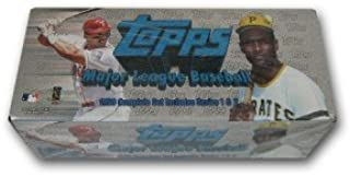 1998 TOPPS BASEBALL COMPLETE SET - SERIES 1 & 2 (SET OF 503 CARDS INCLUDING 8 RANDOMLY SELECTED INSERT CARDS IN UNOPENED PACKAGE) FREE SHIPPING AND TRACKING