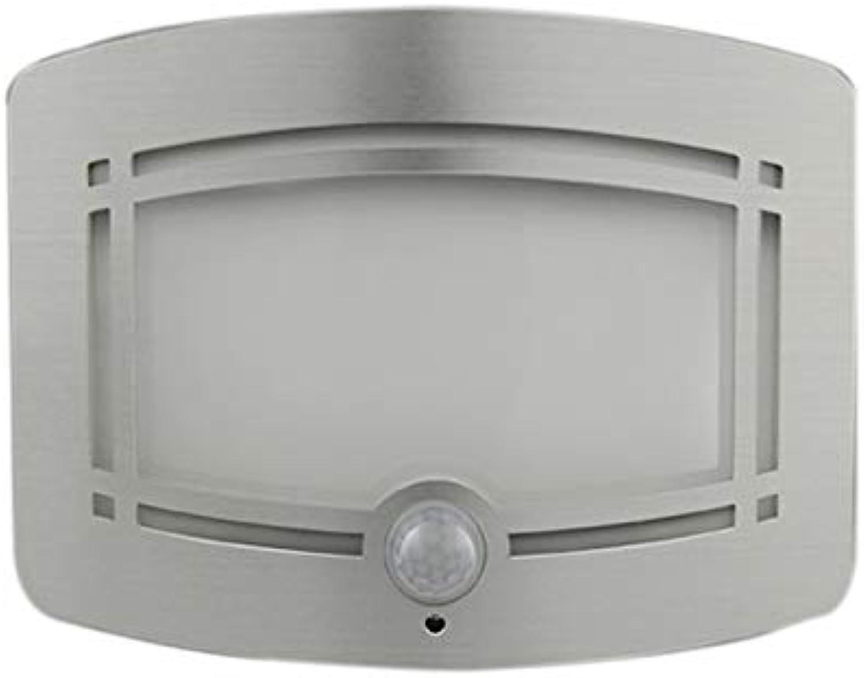 SJZC Bewegungssensorleuchten Wandleuchten Nachtlicht LED-Smartlight (1 Packung, Batteriebetrieben)