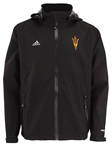 adidas NCAA Men's Gore-Tex Full Zip Rain Jacket, Arizona State Sun Devils X-Large