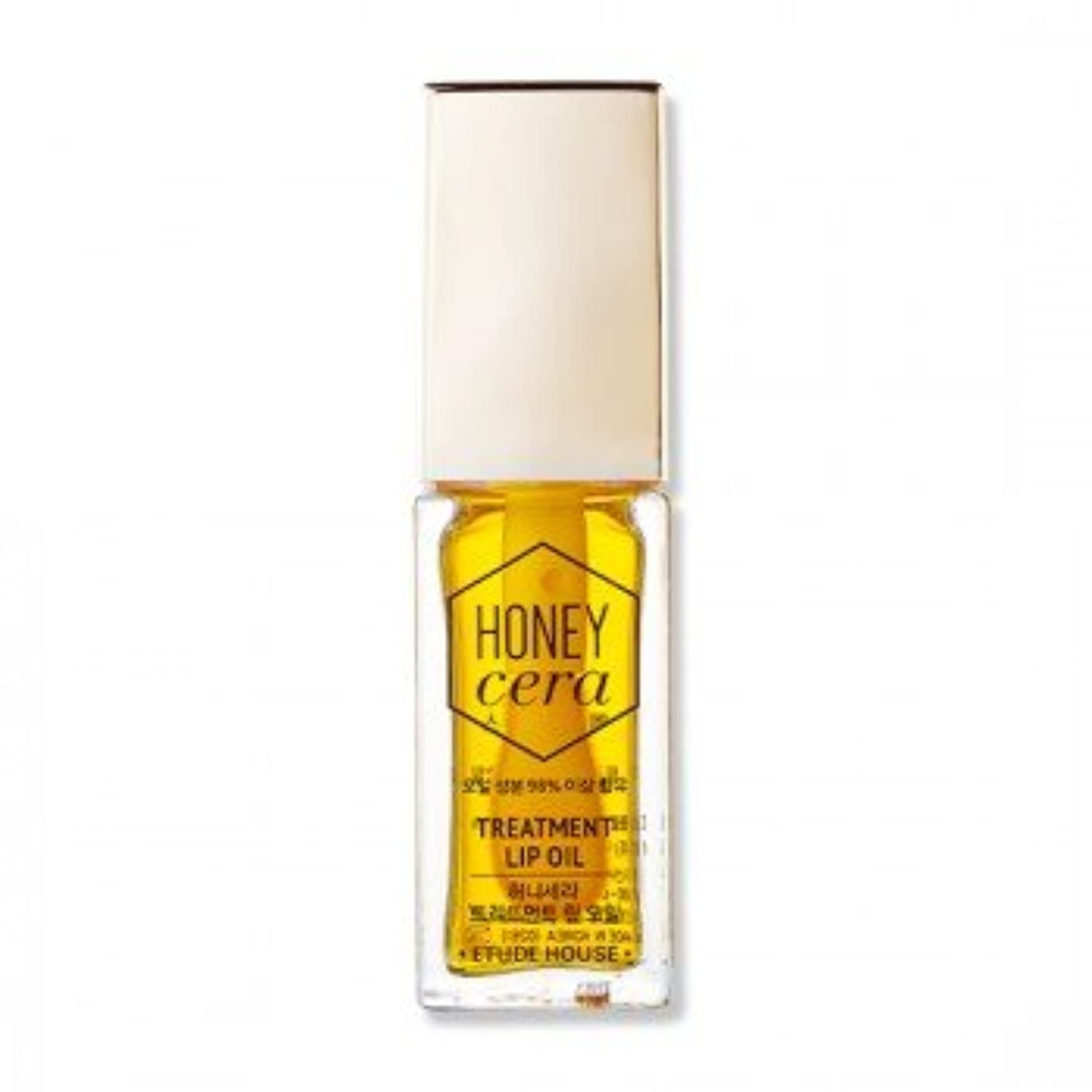 不安定内陸アッパー(3 Pack) ETUDE HOUSE Honey Cera Treatment Lip Oil (並行輸入品)