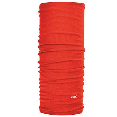 PAC Multifunktionstuch Mund Maske Original Wind Schutz, Rot, 8810