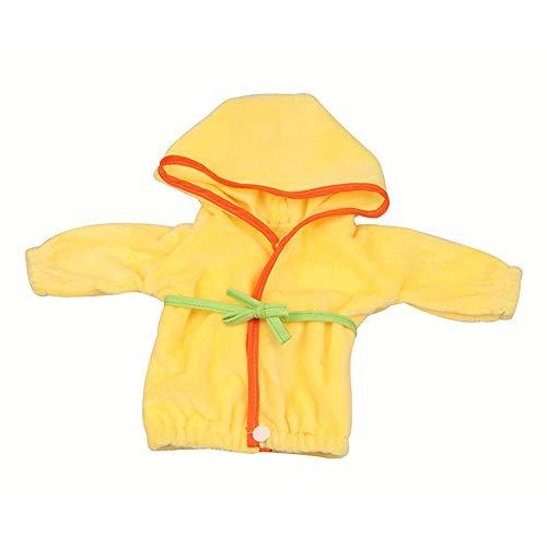 Uteruik Camisón de muñeca Pijamas Albornoz Ropa para muñeca americana de 46 cm/18 in trajes casuales de traje accesorios de juguete