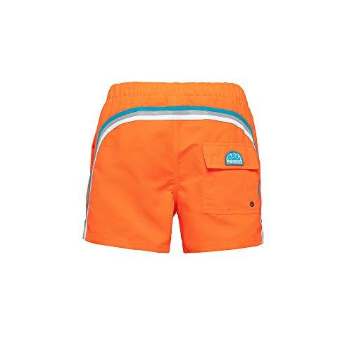 Sundek M520BDTA100 zwembroek voor heren, oranje