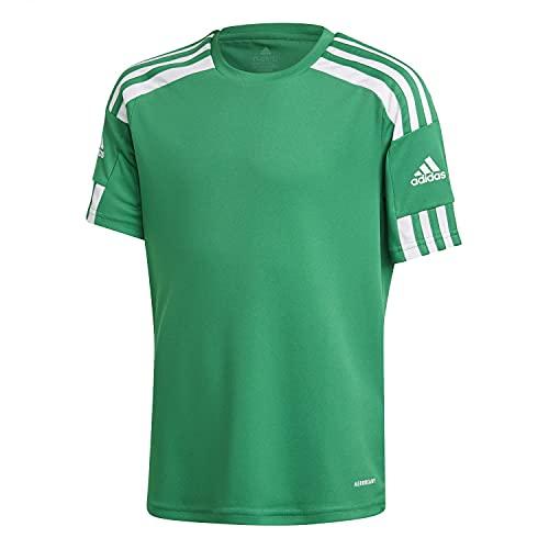 adidas, Squadra 21, Camiseta, Equipo Verde/Blanco, 1516, Unisex-Hijo