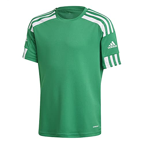 adidas, Squadra 21, Camiseta, Equipo Verde/Blanco, 5-6A, Unisex-Hijo
