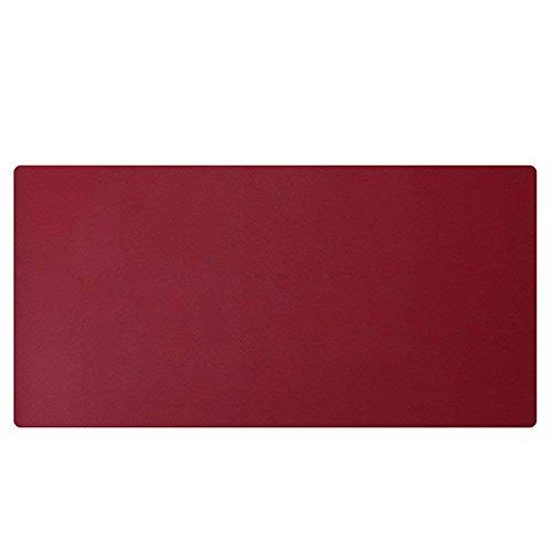 LiLan Sous-mains Bureau en Cuir PU, Tapis de Souris Grand (Vin rouge,120X60CM)