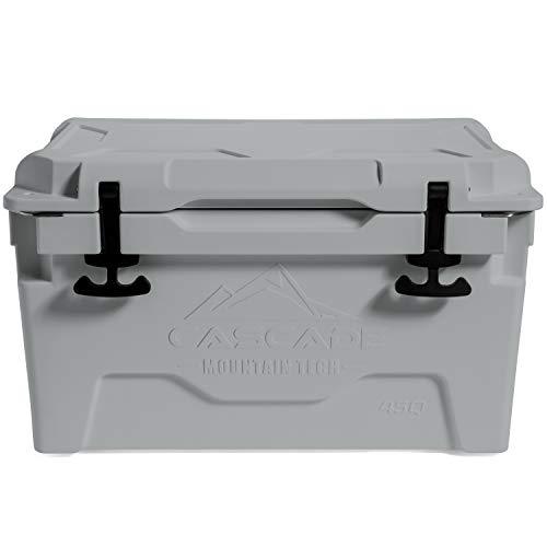 Cascade Mountain Tech Rotomolded Cooler - Heavy Duty for Camping, Fishing,...