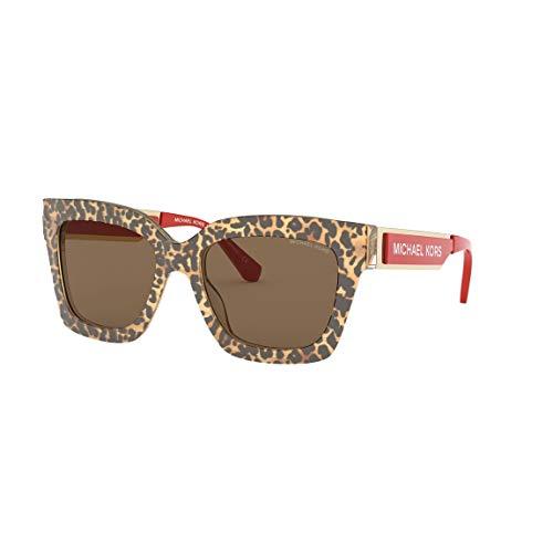 Michael Kors 0MK2102 Gafas, Brown, 54 para Mujer