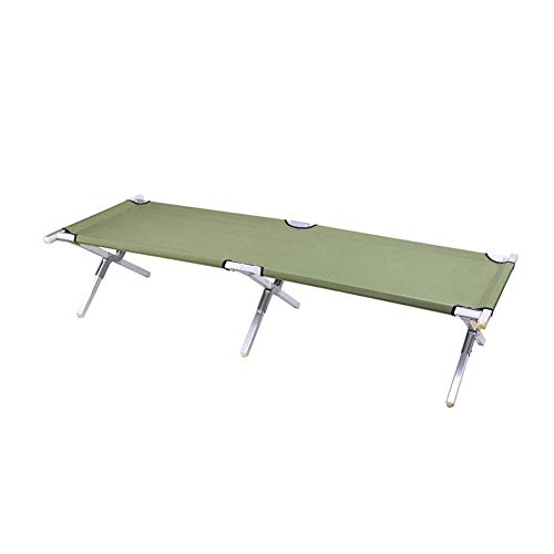 Anah Folding Camping Cot,Outdoor Portable Camp Bed, Hiking Army Military Style...